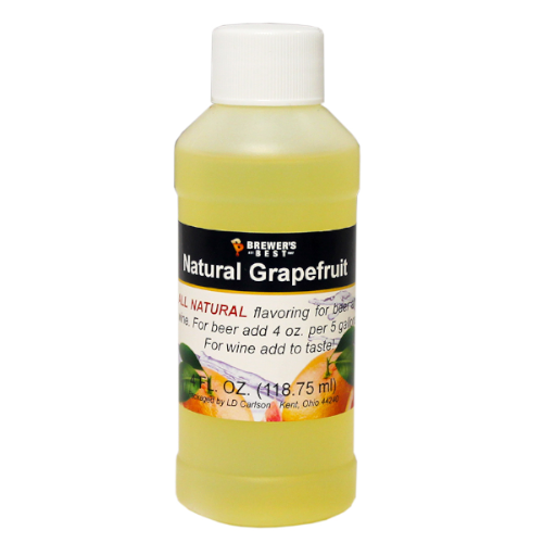Natural Grapefruit Flavoring - 4 oz
