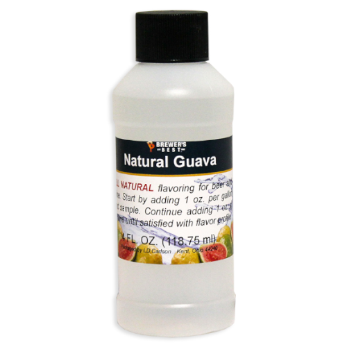Natural Guava Flavoring - 4 oz