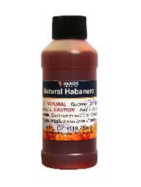 Natural Habanero Flavoring - 4 oz
