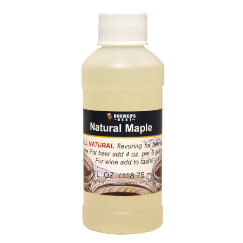 Natural Maple Flavoring - 4 oz