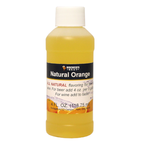 Natural Orange Flavoring - 4 oz