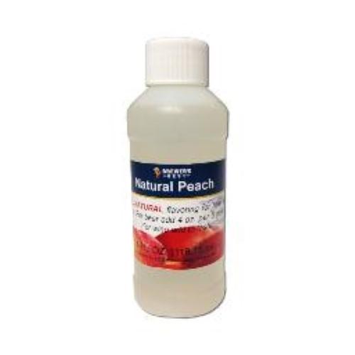 Natural Peach Flavoring - 4 oz