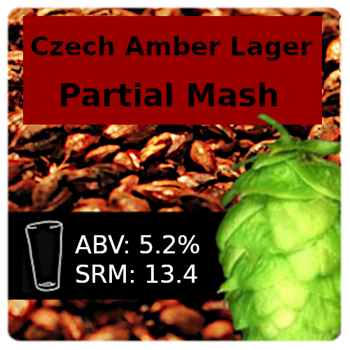 SoCo - Czech Amber Lager - Partial Mash