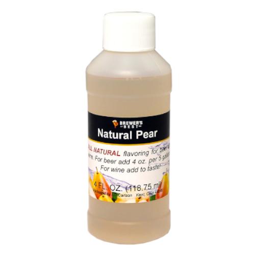 Natural Pear Flavoring - 4 oz