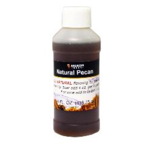 Natural Pecan Flavoring - 4 oz
