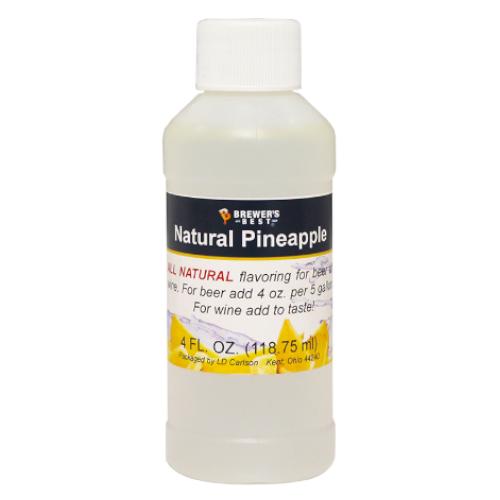 Natural Pineapple Flavoring - 4 oz