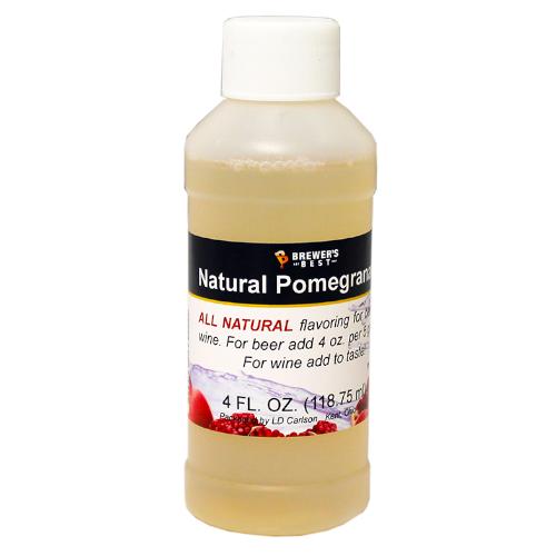 Natural Pomegranate Flavoring - 4 oz