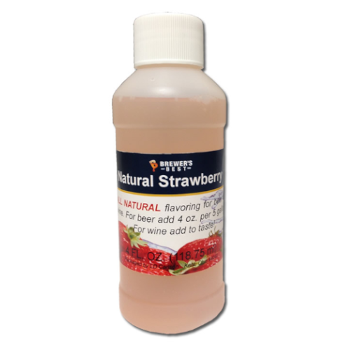 Natural Strawberry Flavoring - 4 oz