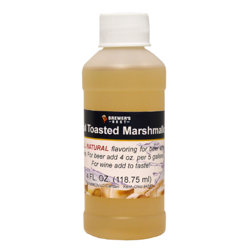 Natural Toasted Marshmallow Flavoring - 4 oz