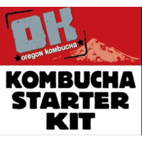 Oregon Kombucha Strawberry Green Tea Starter Kit