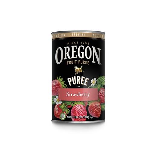 Strawberry Puree (Oregon Fruit) - 49 oz