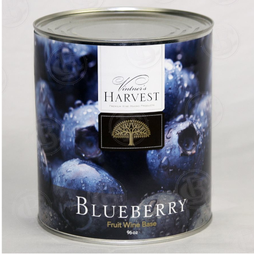 Vintner's Harvest Blueberry Wine Base - 96 oz