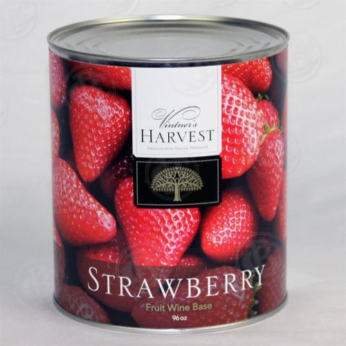 Vintner's Harvest Strawberry Wine Base - 96 oz