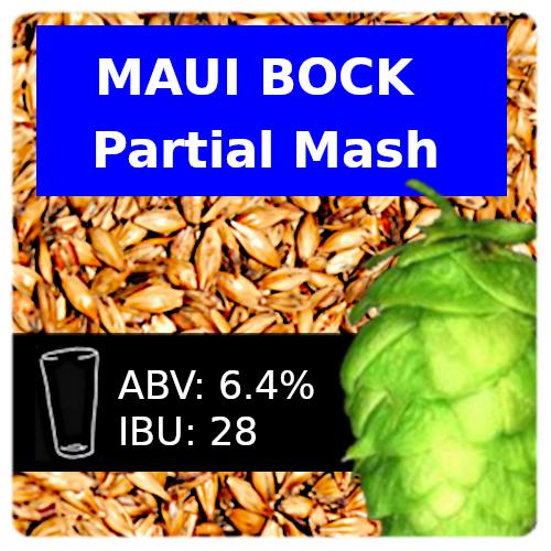 SoCo - Maui Bock - Partial Mash