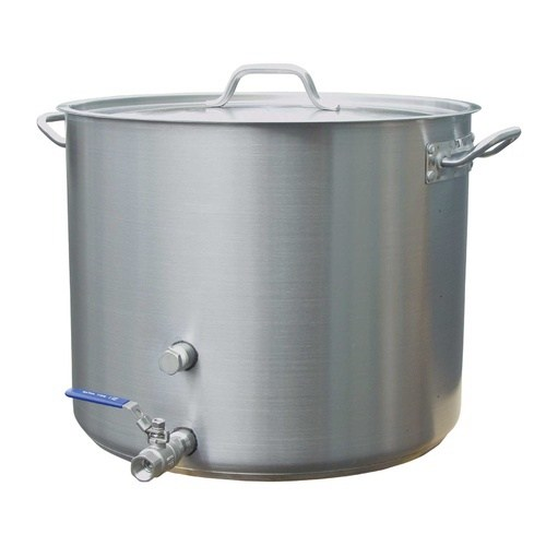 Brewing Kettle - 15 Gallon/60 qt W/Valve