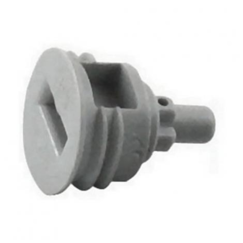 Gray Cap for Ball Lock Gas Disconnect - CMBecker