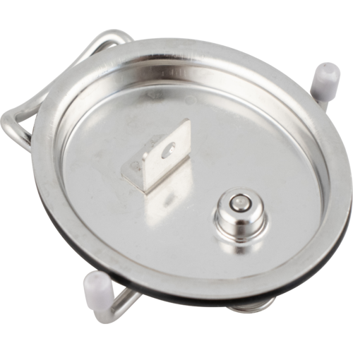 Ball Lock Keg Lid with Welded Tab