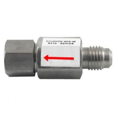 "Disconnect Check Valve, 1/4"" MFL x 1/4"" FFL"
