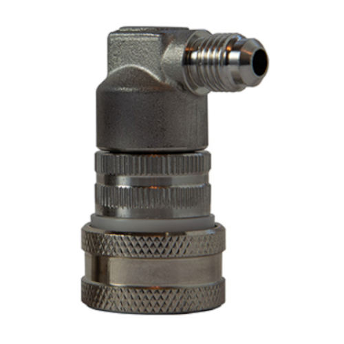 Stainless Steel Ball Lock Disconnect Gas In - MFL Threaded