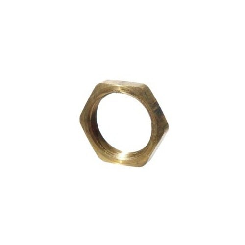 Brass Flat Nut - 1/2 in