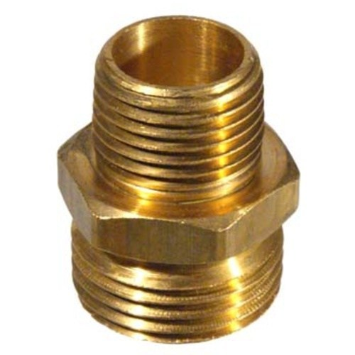 "Brass Hose Fitting - Male Garden Hose x 1/2"" MPT"