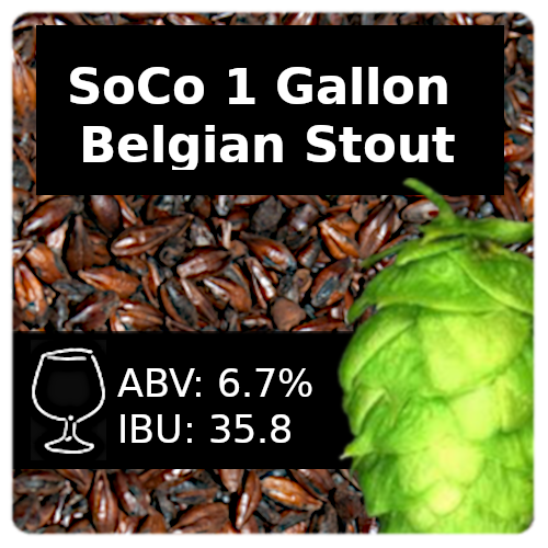 SoCo - 1 Gallon Belgian Stout