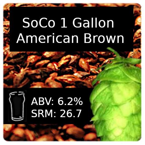SoCo - American Brown Ale - 1 Gallon
