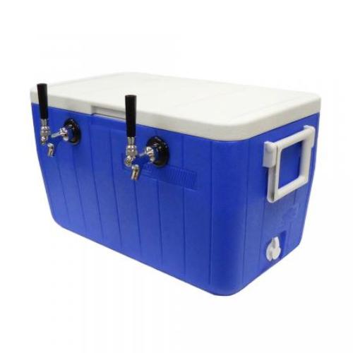 Jockey Box - 2 Faucet Plate