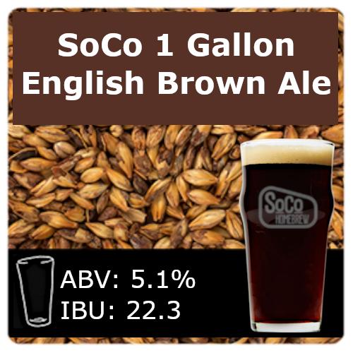 SoCo - English Brown Ale - 1 Gallon