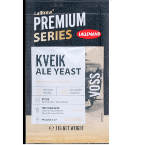 Lallemand LalBrew Voss Kveik Dry Ale Yeast - 11 g