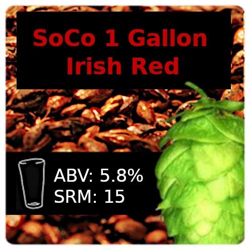 SoCo - Irish Red Ale - 1 Gallon