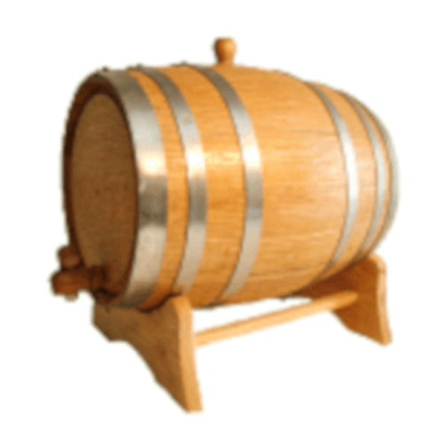 Barrel - American White Oak - 10 L (2.5 Gal)