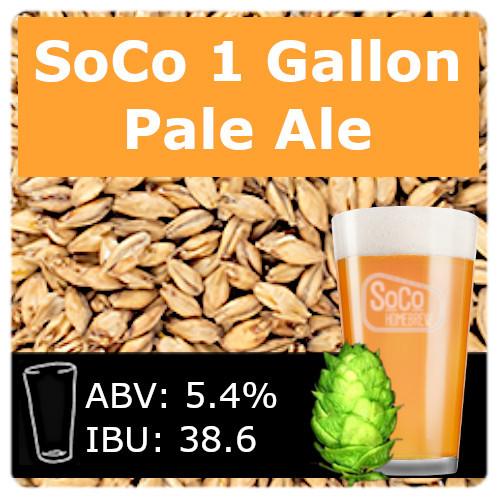 SoCo - Pale Ale - 1 Gallon