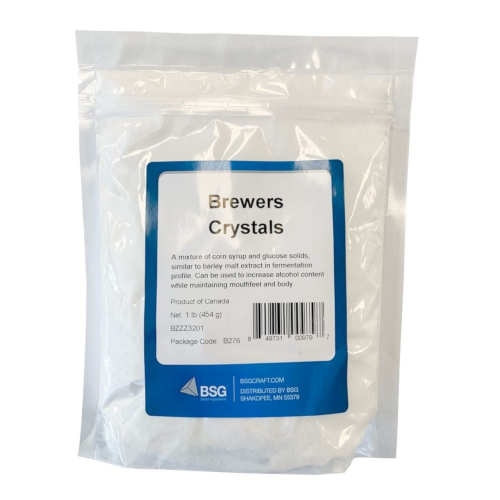 Brewers Crystals (Corn Syrup Solids & Glucose Solids) - 1 LB