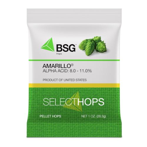 Amarillo Hop Pellets 1 ounce