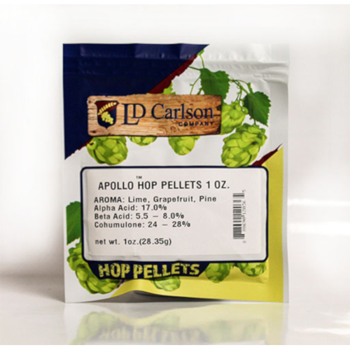 Apollo Hop Pellets (US) - 1 oz