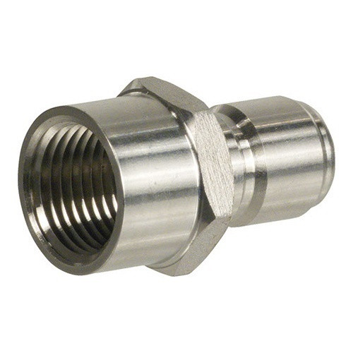 """Male Stainless Steel Quick Disconnect x 1/2"""" FPT"""