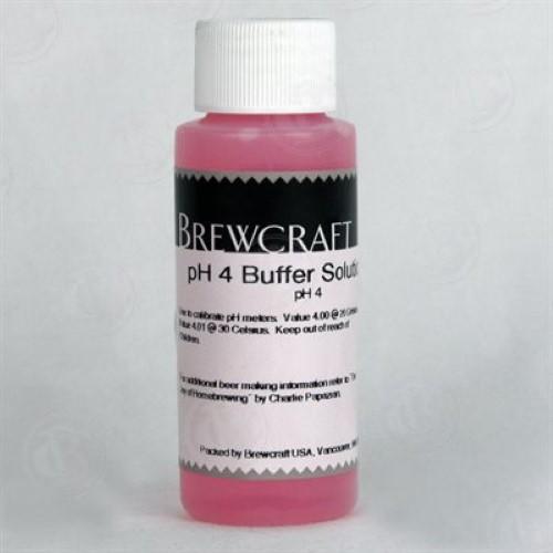 Ph 4 Buffer Solution - 2 oz