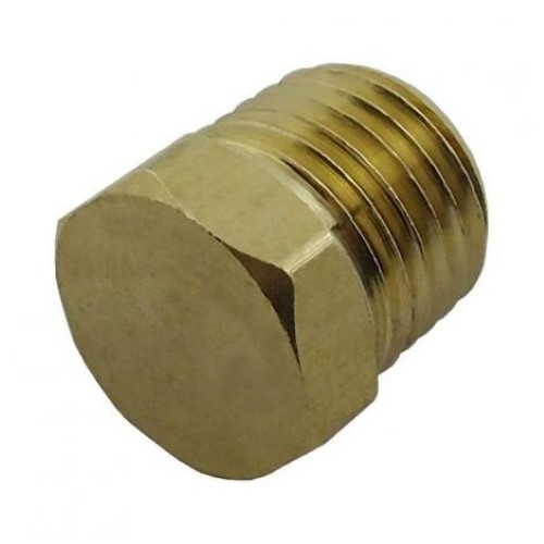 "Plug Hex Head with 1/4"" MPT"