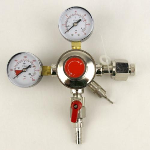 CO2 Regulator - Basic 2 Gauge