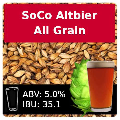 SoCo - Altbier - All Grain