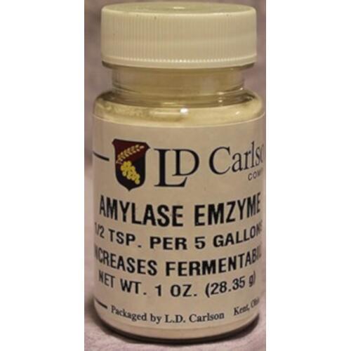 Amylase Enzyme - 1 oz