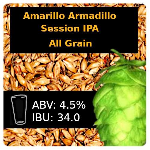 SoCo - Amarillo® Armadillo Session IPA - All Grain
