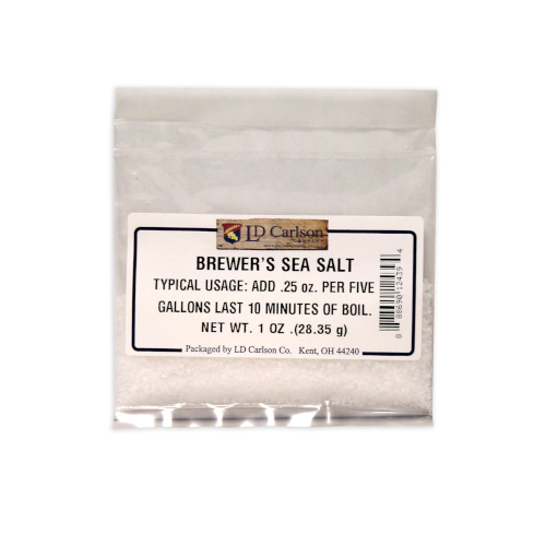 Brewer's Sea Salt - 1 oz