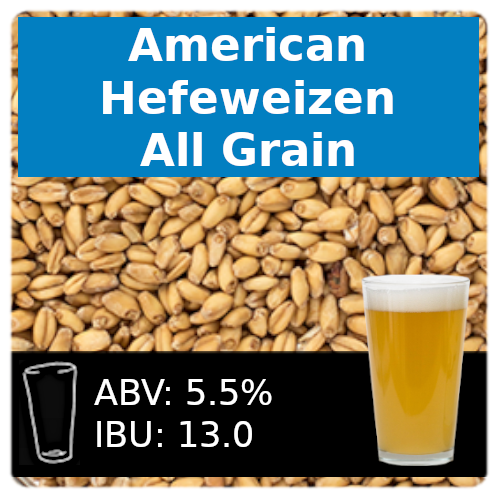 SoCo - American Hefeweizen - All Grain