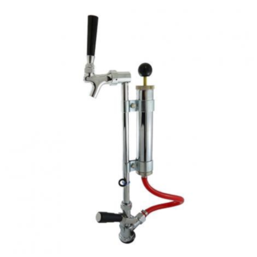 Keg Party Pump With Rod & Faucet (With Coupler)
