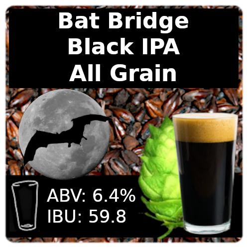 SoCo - Bat Bridge Black IPA - All Grain