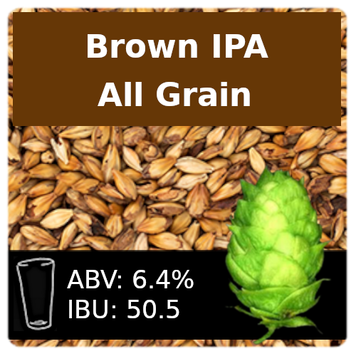 SoCo - Brown IPA - All Grain
