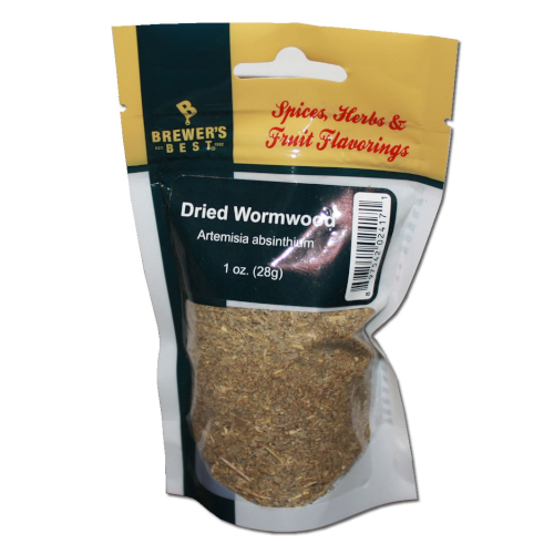 1 ounce of dried wormwood