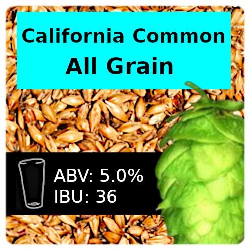 SoCo - California Common Steam Beer - All Grain